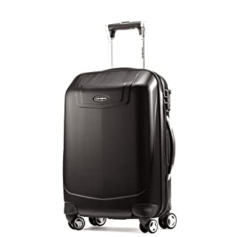 "Samsonite Silhouette 12 22"" Hardside Spinner Luggage, Black"