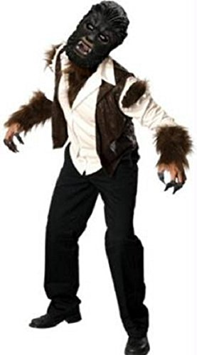 Deluxe Wolfman Adult Costume Size Standard