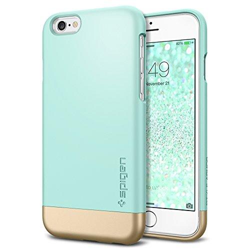 Iphone 6 case spigen style armor safe slide mint for Interior iphone 6