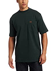 RIGGS WORKWEAR by Wrangler Men's Pocket T-Shirt, Forest Green, X-Large
