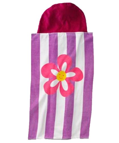 Jumping Beans Beach/Bath Wrap (Purple) - 1
