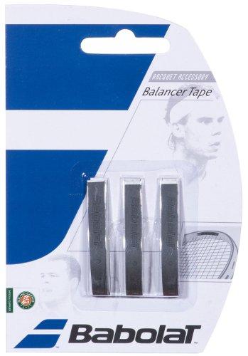 Babolat 700015_105 - Nastro piombato per racchette da tennis, nero