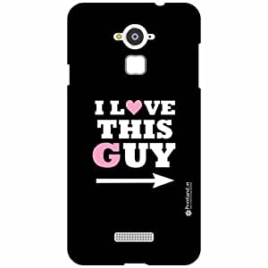 Coolpad Note 3 Back Cover - Silicon I Love This Guy Designer Cases