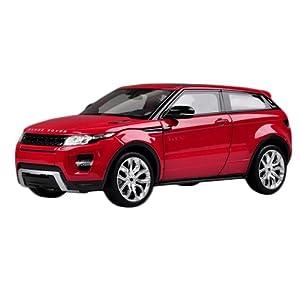 Fahrzeuge Spielzeug Fertigmodell Modellauto Rot 1:24 Land Rover Evoque Diecast Modell Autos