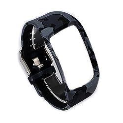 Moretek Wireless Sport Wristband Strap Smartwatch Band for Samsung Galaxy Gear S Et-sr750 Watch Replacement Band (Camo2)