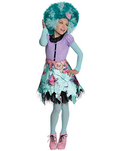 Child's Girls Monster High Honey Swamp Costume And Wig Bundle