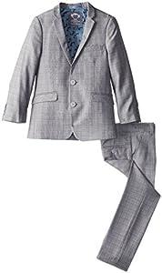 Appaman Little Boys' Classic Two Piece Mod Suit, Glen Plaid, 7