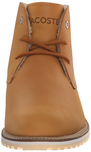 Lacoste Women's Manette 2 Winter Boot, Light Tan, 9.5 M US