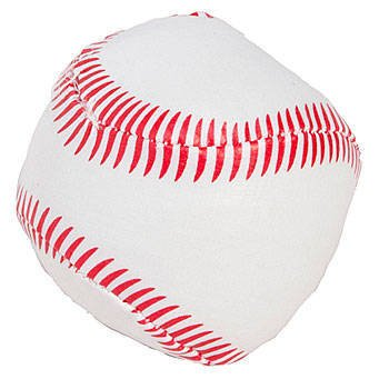 ONE DOZEN 2'' SOFT STUFF BASEBALLS-Party Favor-Game Prizes Sports Themed Birthday Parties-Package of 12 - 1