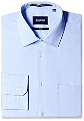 Blackberrys Men's Formal Shirt (8907196533225_MSDOC97ABEN08BPQ_39_Air Blue)