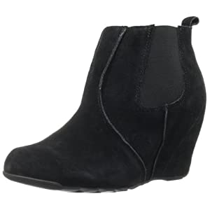 Kenneth Cole REACTION Women's Tell Tales Bootie,Black Suede,7 M US