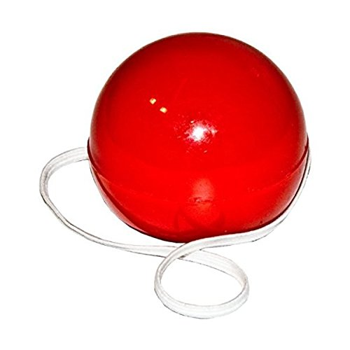 Ball Shaped Circus Clown Rudolph Red Nosed