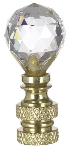 Swarovski Crystal Ball Lamp Shade Finial