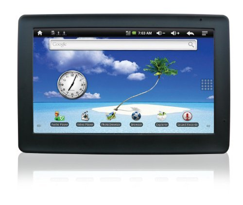 KLÃ? 4.3-Inch Tablet PC, Touch-Screen, Media Device, Android 2.2