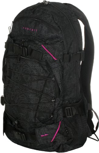 FORVERT Rucksack NEW LOUIS, black-allover,