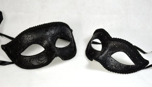 Black Couple Mask Lover Black Mask Mardi Gras Masquerade Mask