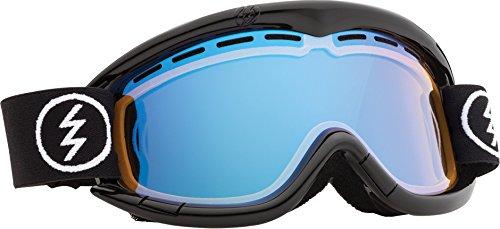 Electric Eg1K Snow Goggle, Gloss Black, Yellow/Blue Chrome
