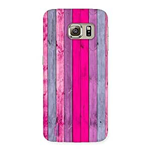 Ajay Enterprises Pink Wall Multicolor Back Case Cover for Samsung Galaxy S6 Edge Plus