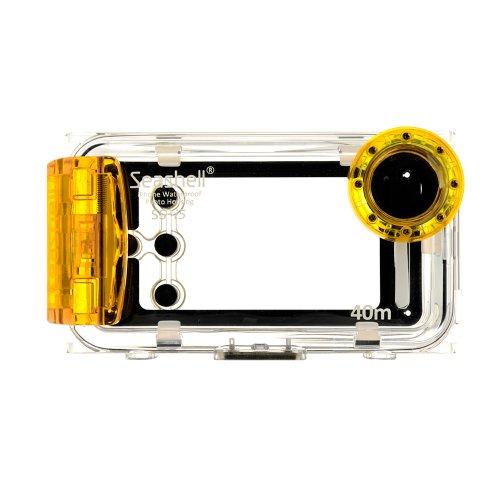 Best Price Seashell Waterproof Photo Housing Underwater Case for iPhone 5 5s 5c - Yellow