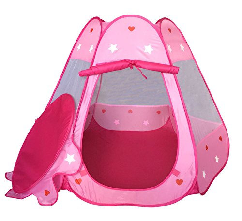 Stars Amp Hearts Princess Castle Play Tents For Girls W