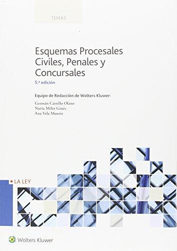 Esquemas procesales Civiles, Penales y Concursales (5ª ed.) (Temas)