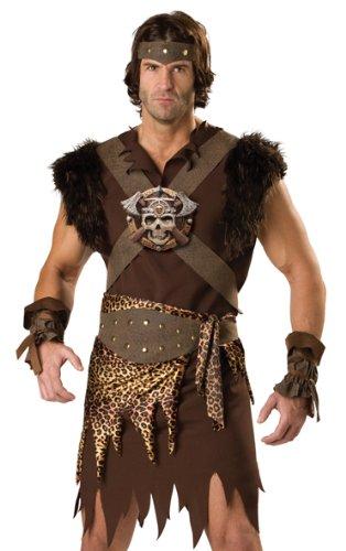 In Character Barbarian Warrior Man Halloween