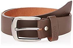 Covo Brown Leather Men's Casual Belt (BJ40PB31036)