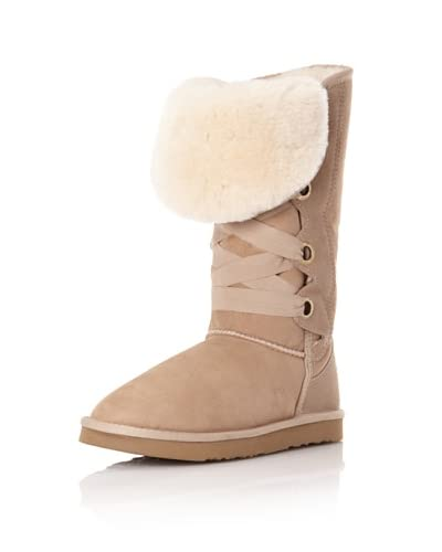 Australia Luxe Collective Women's Bedouin Tall Lace Up Boot
