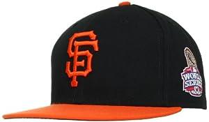 MLB San Francisco Giants World Series On-Field Cap, Black Orange by New Era