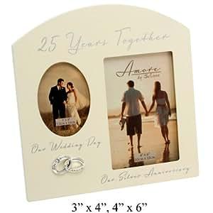 Amazon Wedding Gift List Uk : ... Wedding Gift Cream Photo Frame - 6