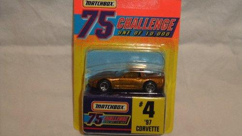 MATCHBOX CHALLENGE 75 GOLD EDITION 1 OF 10,000 1997 CORVETTE DIE-CAST