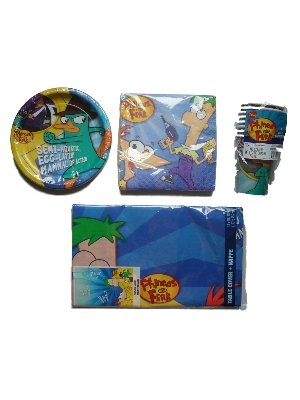 Phineas and Ferb Birthday Party Supplies