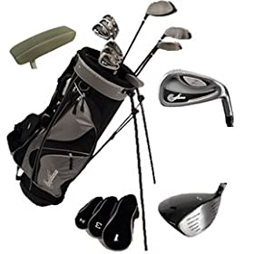 Z Series Hybrid Golf Club Set W/deluxe Stand Bag