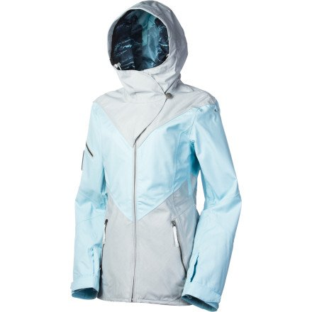 Oakley GB Eco Shell Jacket - Women's Blue Crystal, XL
