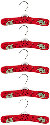 Kidorable Ladybug Infant Hanger Set, Small 5