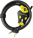 Master Lock 8413DPF Python Adjustable Locking Cable, 6-Foot x 3/8-inch