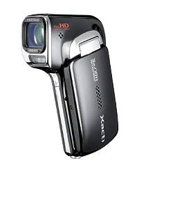 Sanyo Xacti CA100 Outdoor/Waterproof Dual Camera (14MP, Full HD recording, 12x Double range Zoom, Waterproof to 3m) - Black