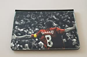 IPAD 4 Flip Case Steven Gerrard Black iPad case Free Next Day Delivery by Productsave