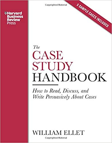 The case study handbook (Open Library)