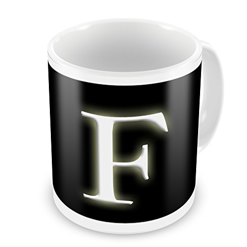 Coffee Mug F Blank Characters, Letter - Neonblond