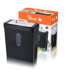 Peach Kreuzschnitt Aktenvernichter - PS500-18, 8 Blatt