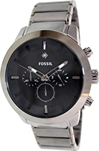 Fossil FS4680 Dress Stainless Steel Watch - Gunmetal