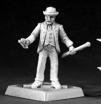 Doctor John H Watson Chronoscope Miniature Figures by Reaper Miniatures by Reaper