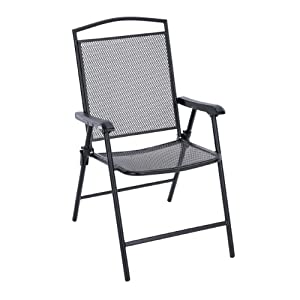 Living accents chair folding 26 l x 21 7 w for Living accents patio furniture