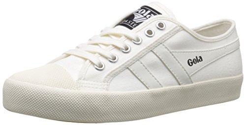 Gola Women's Coaster Fashion Sneaker, Off White/Off White, 8 M US