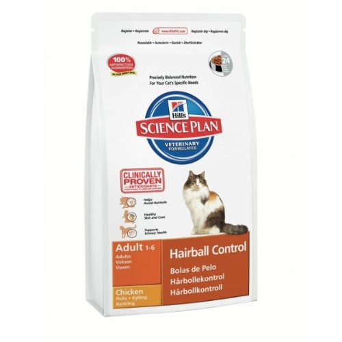 Hills Science Plan Hills Feline Hairball Control Adult 1er Pack 1 x 1500 g