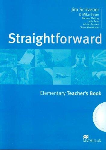 Straightforward Elementary Teacher'S Book and Resource Pack