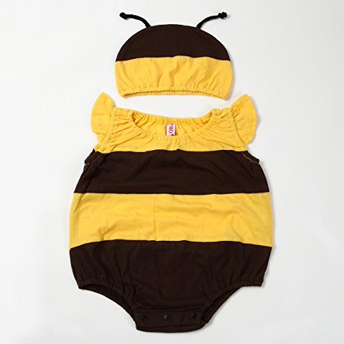 【ps.j】ミツバチ ロンパース 3サイズ (80)
