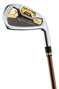 Williams Golf Polesitter Gold Series 4-SW Irons, Japan Specification (Right Hand, Senior Flex)