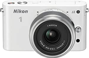 Nikon 1 J2 10.1 MP HD Camera with 11-27.5mm f/3.5-5.6 Lens (White)